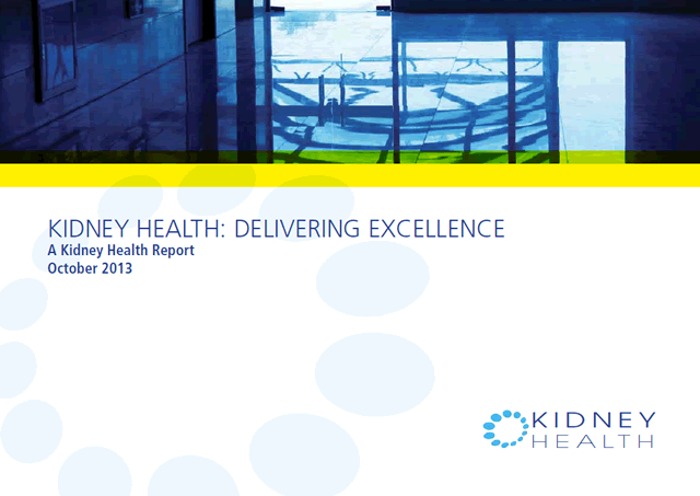 Kidney Health Delivering Excellence